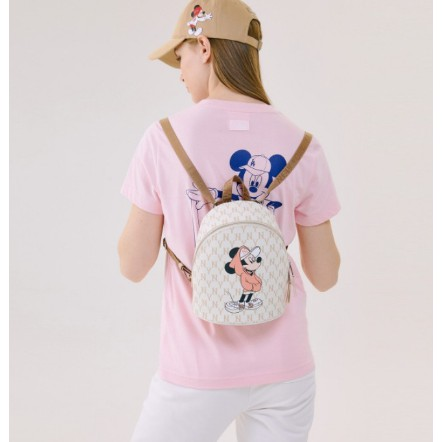 *KTQ* MLB KOREA X Disney 迪士尼 聯名款 洋基NY 洛杉磯LA 米奇圖案 後背包 小後背包