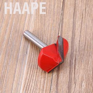 Haape 1 *銑床CNC雕刻刀工具6mm x 32mm 120度3D V槽