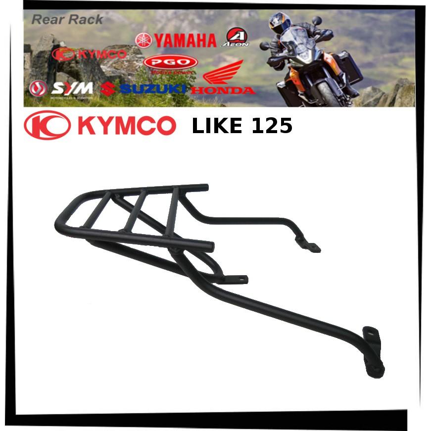 【TL機車雜貨店】KYMCO光陽 LIKE 125 專用後架 後箱架 後鐵架 後置物箱架 行李架