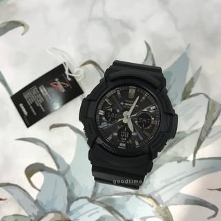 CASIO 卡西歐 G-SHOCK (GAS-100B-1A) 太陽能耐衝擊雙顯腕錶 屏東縣