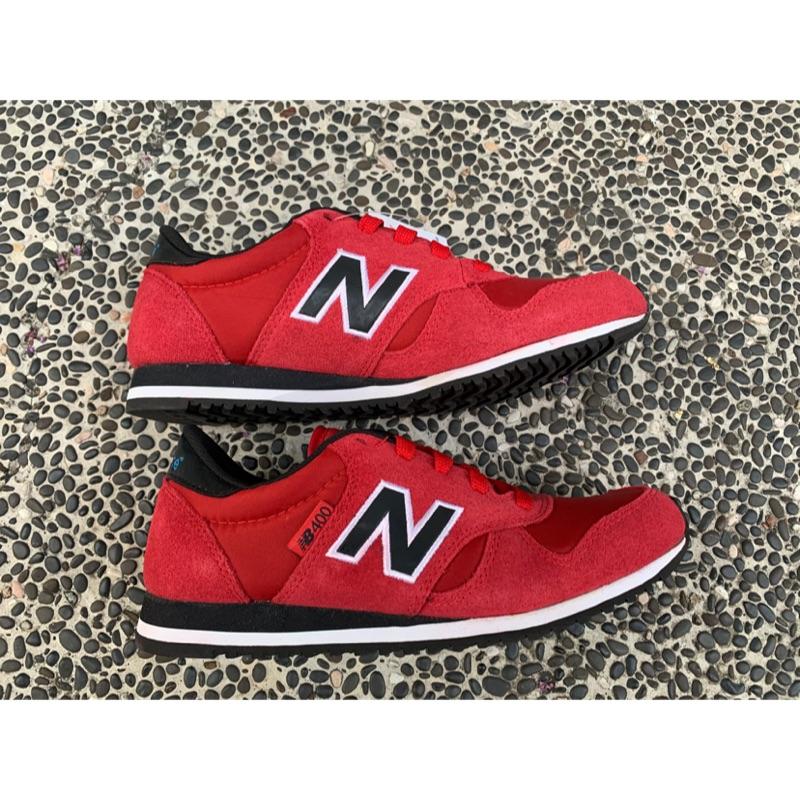 特價出清Gogosneaker®️New Balance M440NRN 紅黑色 紅色 女鞋 慢跑鞋 火焰紅 復古