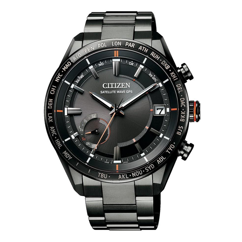 【CITIZEN 星辰錶】GENT'S 光動能時尚男錶 CC3085-51E