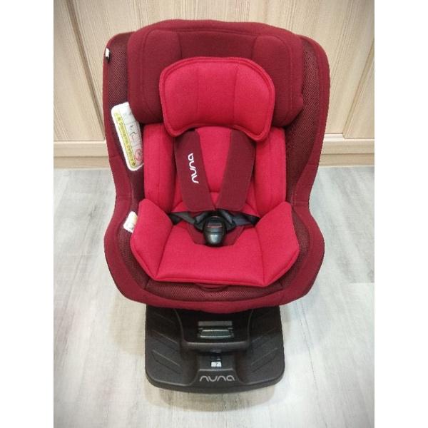 Nuna Rebl plus 莓紅汽車安全座椅(含isofix底座)