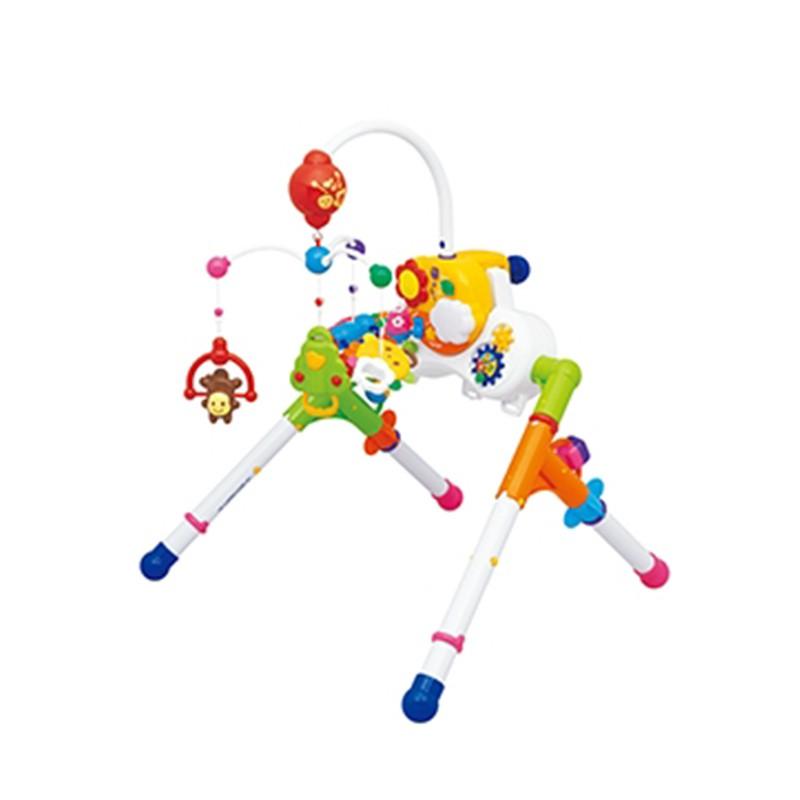 Toyroyal 樂雅 五用旋轉音樂鈴/安撫玩具/咬咬玩具/抓握玩具/手指運動玩具