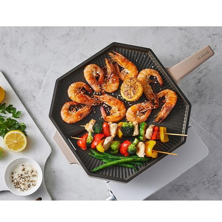 韓國熱賣 DR.HOWS調色板烤盤 平底烤盤 28cm