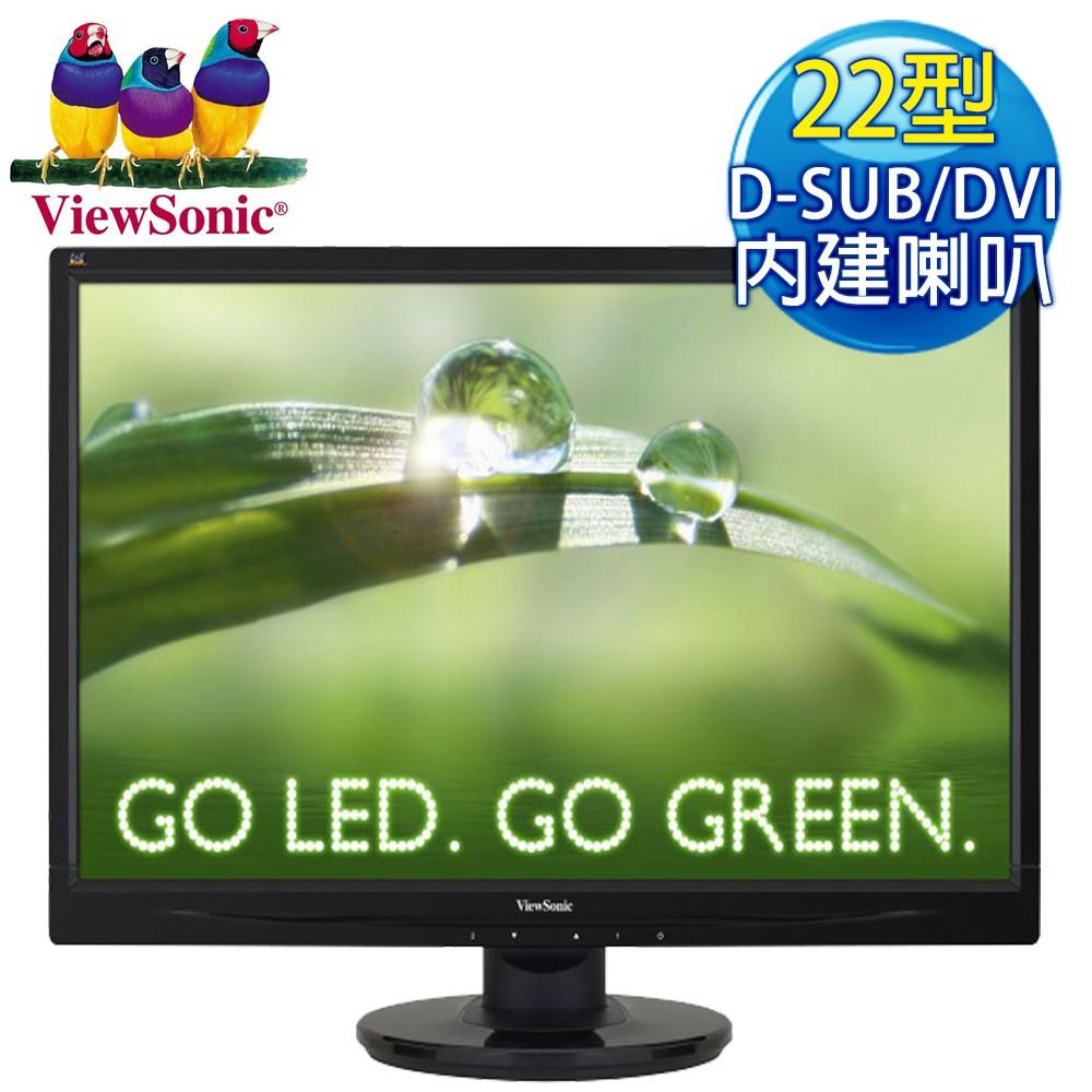 ViewSonic優派 VA2246M 22吋雙介面液晶螢幕