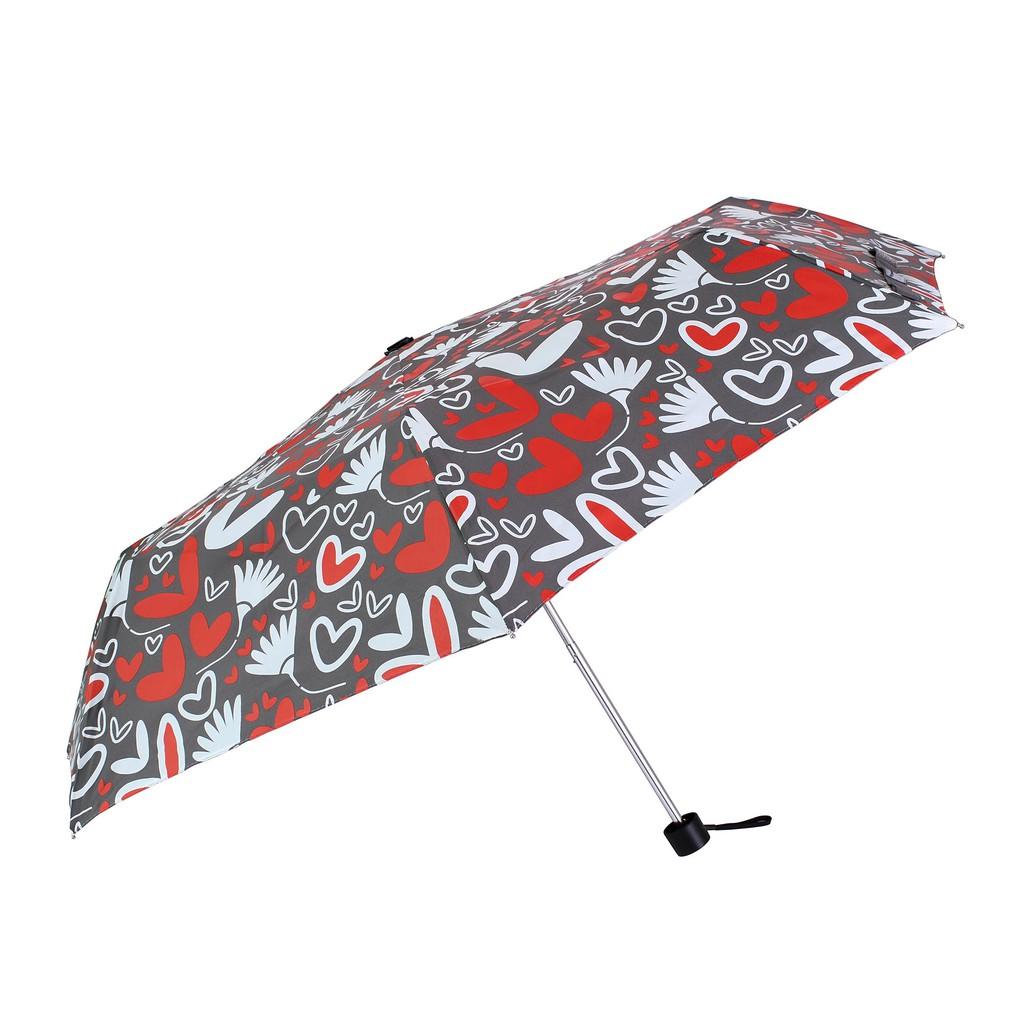 UrbaneUmbrella 愛心花朵輕量晴雨傘-無膠-三色