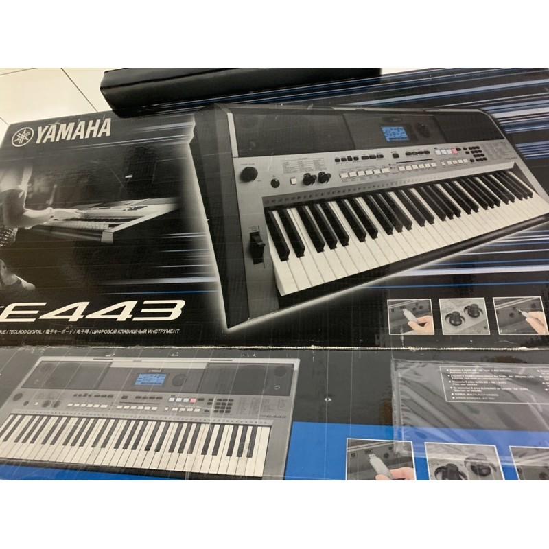 Yamaha/山葉電子琴/PSR-e443/61鍵/可編曲/midi線