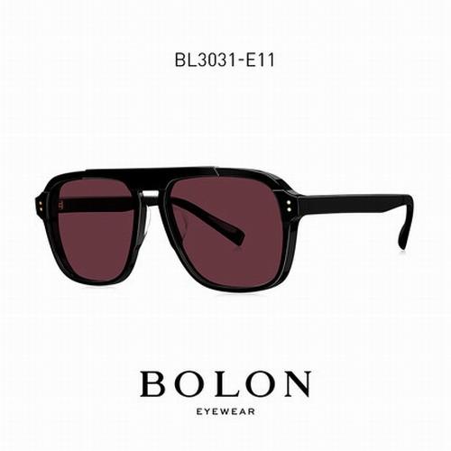BOLON 太陽眼鏡 BL3031 E11 (黑) 紫紅鏡片 墨鏡 王俊凱同款【原作眼鏡】