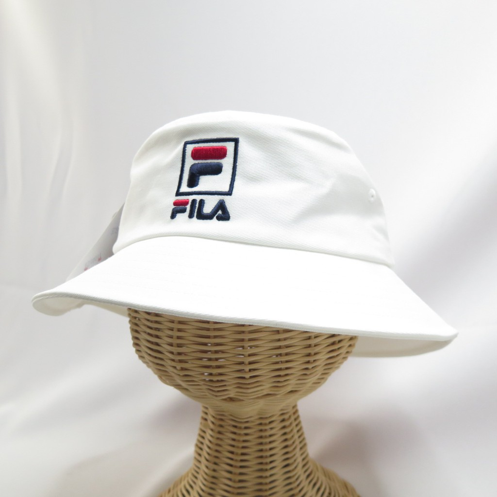 FILA 寬帽簷 漁夫帽 運動帽  HTV1203WT 白色【iSport代購】