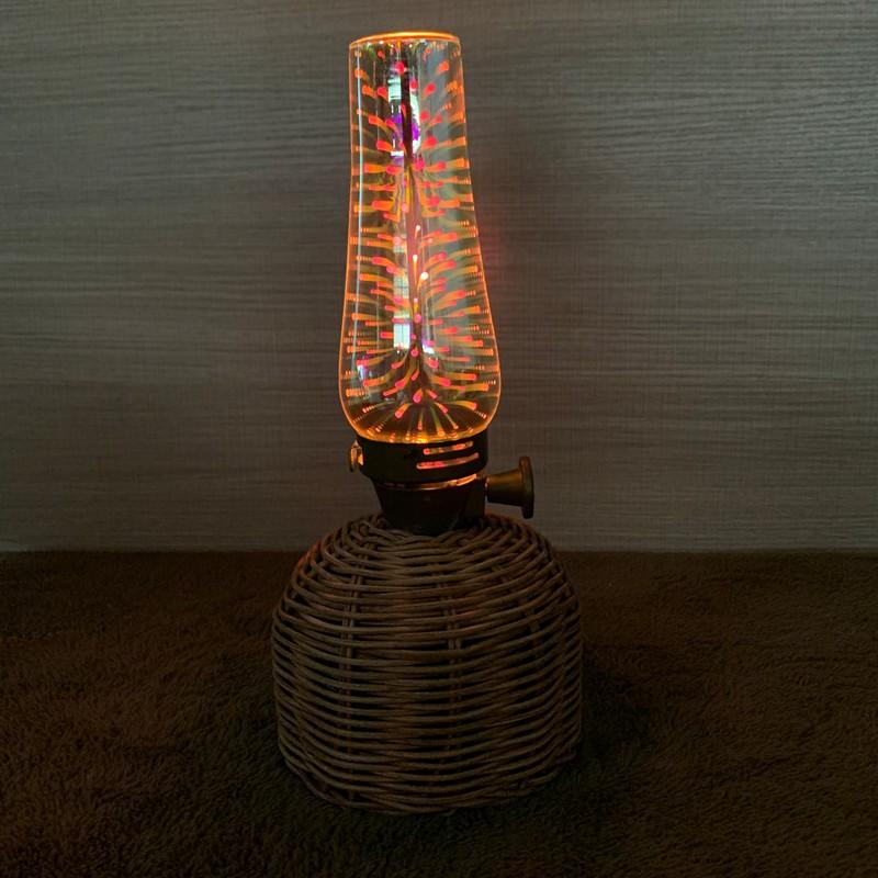 [ Coleman ] 盧美爾瓦斯燭燈 玻璃燈罩 3D炫彩效果 獨家  副廠完美配合
