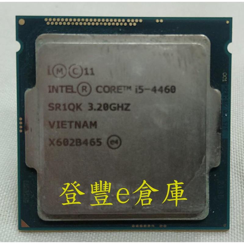 【登豐e倉庫】 INTEL CORE i5-4460 3.20GHZ 1150腳位 CPU