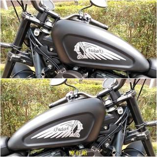 摩行館【摩行館】哈雷883摩托車貼紙貼花印第安納哈雷油箱貼花摩托車反光貼整車貼 新竹市