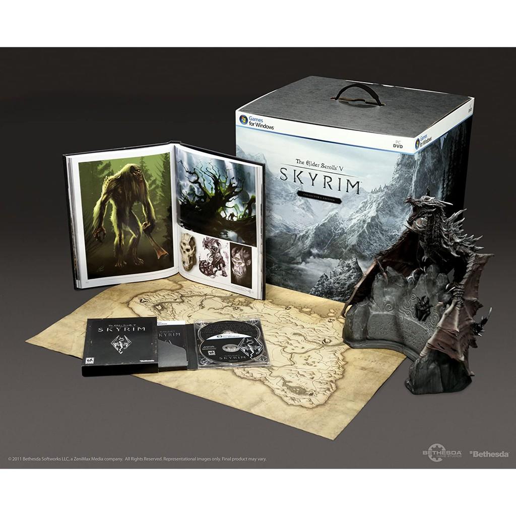 ⋐HJ㍿⋑ Bethesd 上古卷軸 5:無界天際 The Elder Scrolls V:Skyrim PC典藏版