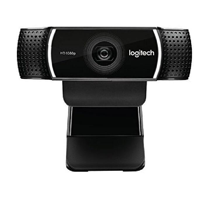 Logitech 攝像頭 C922 Pro Stream Webcam 1080P Camera for HD Vide