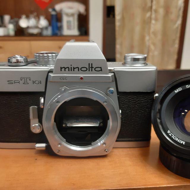 Minolta SRT101 + 50mm F1.7一機一鏡