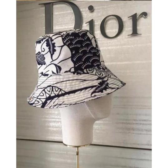 二手真品【Dior】 2020新款 優雅 花色 漁夫帽