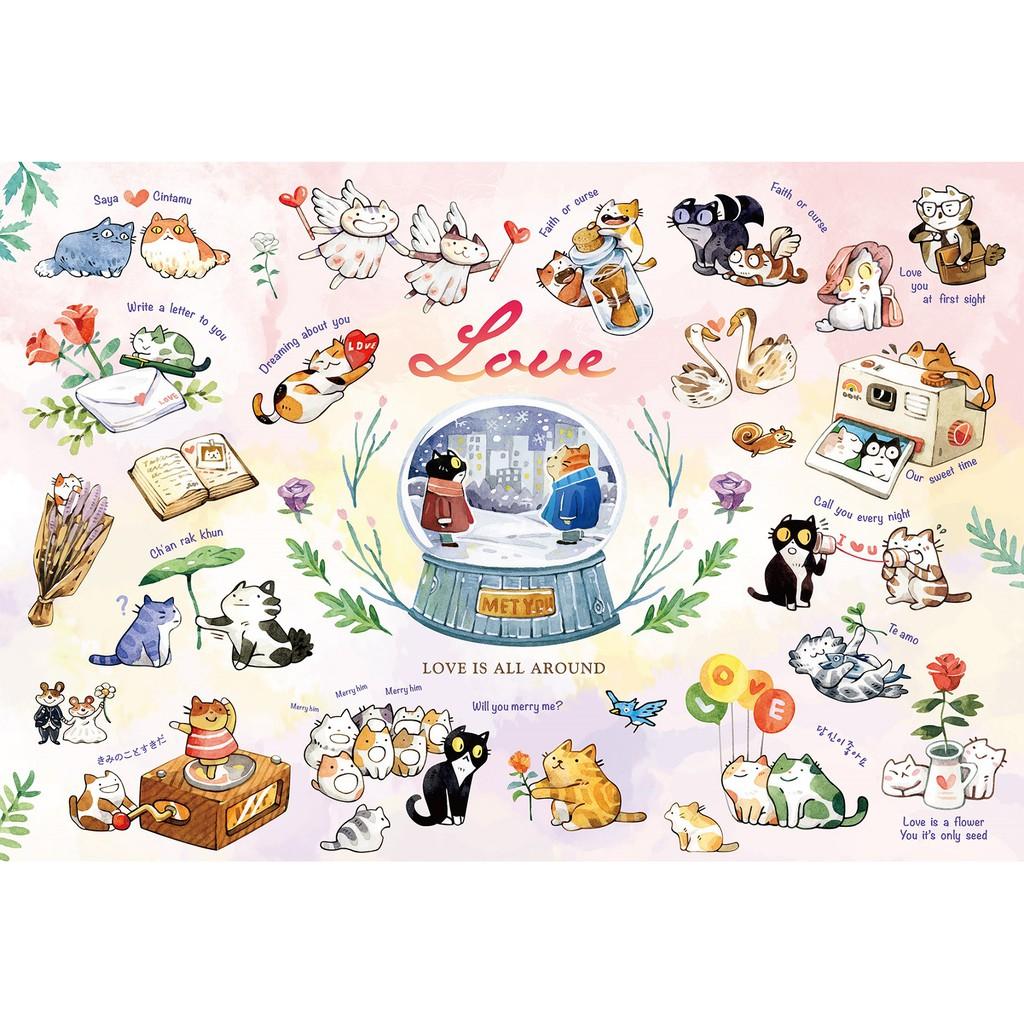 拼圖總動員 戀愛時光 Love PuzzleStory 300P afu 繪畫