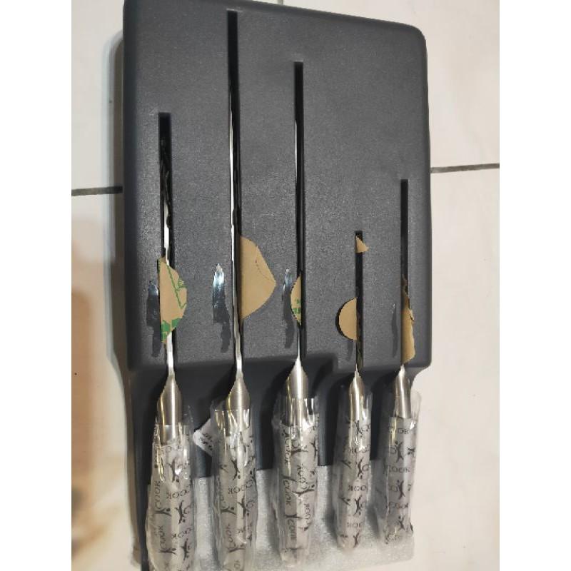 安麗全新不鏽鋼刀具5件組