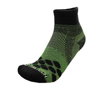 #EGXtech衣格 P83GR  中性 襪子-黑/ 綠P83中筒多功8字繃帶氣墊運動襪AIR