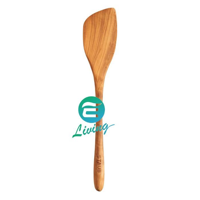 【易油網】Staub 橄欖木鍋鏟 32CM #40509-252