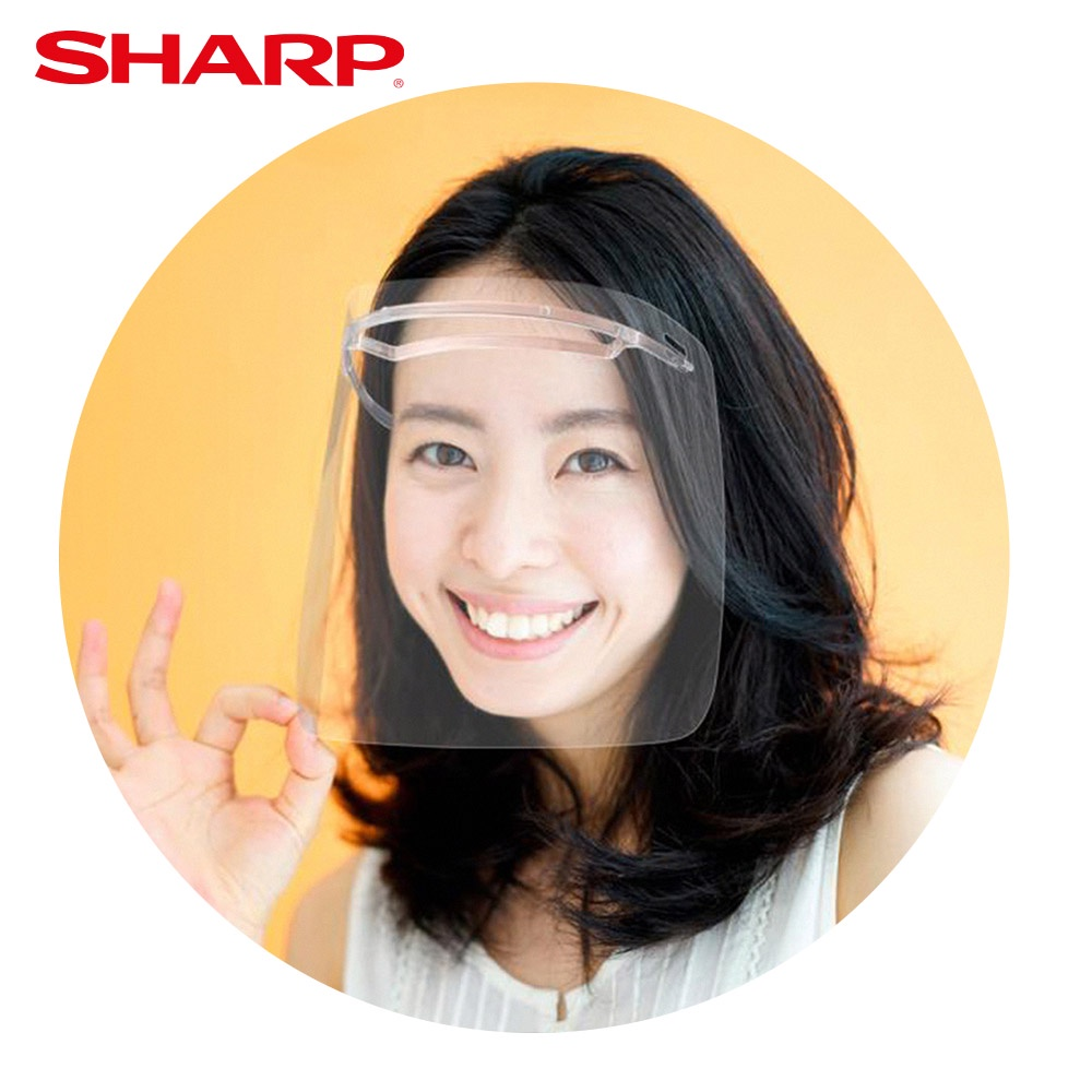 【SHARP夏普】奈米蛾眼科技防護面罩 (奈米蛾眼科技防護眼罩)