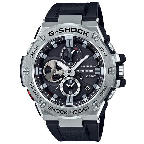 CASIO G SHOCK 競速太陽能運動腕錶 GST-B100-1A