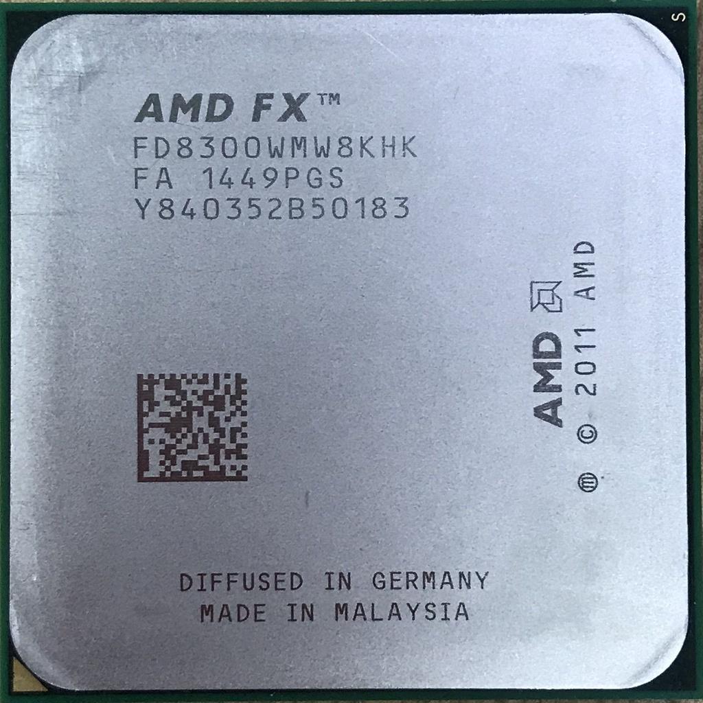 AMD FX 8100 8120 8300 8320 8350 八核cpu AM3+ 推土機