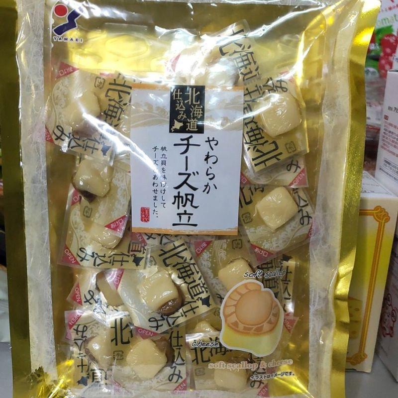 日本北海道起司干貝/煙燻魷魚干貝/一口蟹肉起司 120g