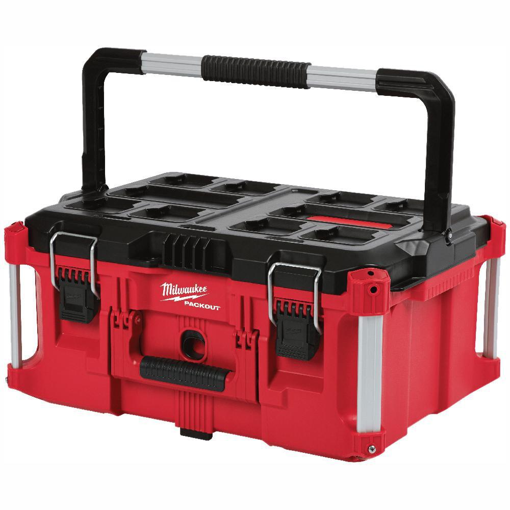 [扣辣五金] Milwaukee 美沃奇 堆疊 大型 工具箱 組合箱 收納盒 收納箱 零件盒 48-22-8425