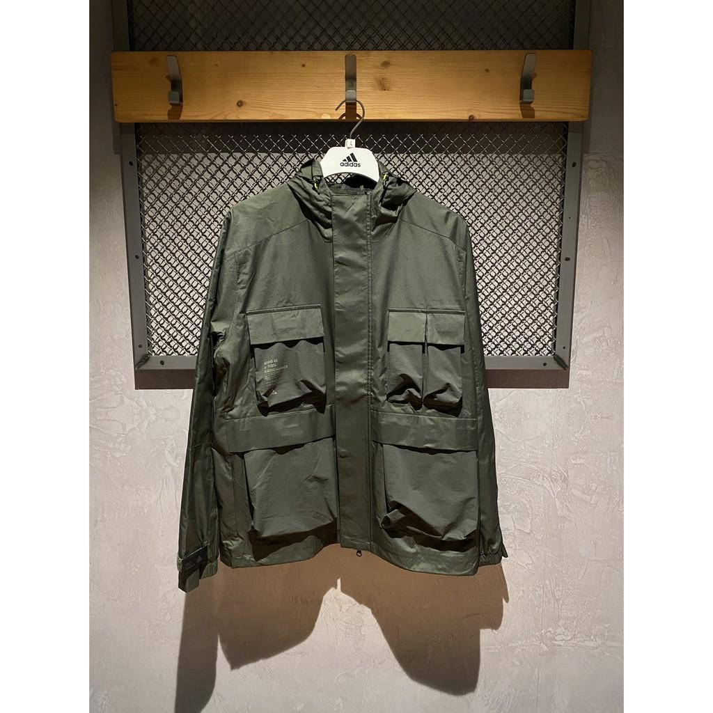 『GW.shopus』Adidas Original TH 風衣外套 GF4013 軍綠 男