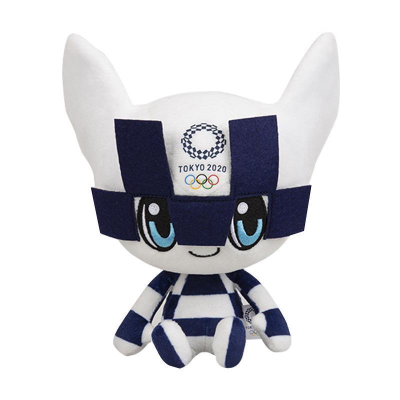 欣欣解憂小鋪2020東京奧運會吉祥物毛絨玩具公仔miraitowa日本體育紀念品娃娃