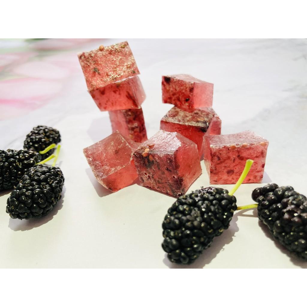 桑椹口味新升級! 琥珀糖 桑椹琥珀糖 喜糖 鑽石糖 水晶糖 桑椹苗熱賣中