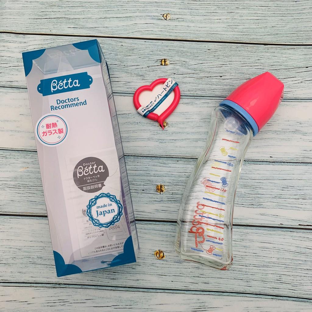 日本 Dr. Betta奶瓶 Jewel GY3-200ml (耐熱玻璃)