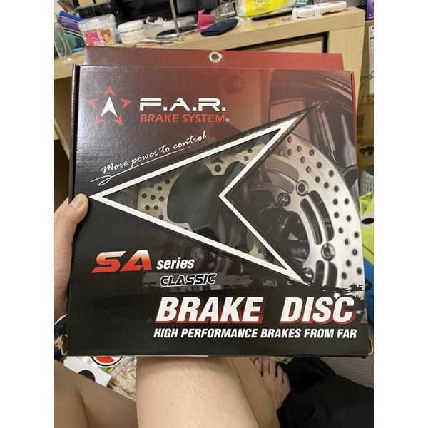 二手-FAR SA 後碟盤 含原廠螺絲200mm固定碟盤 四代勁戰.BWSR