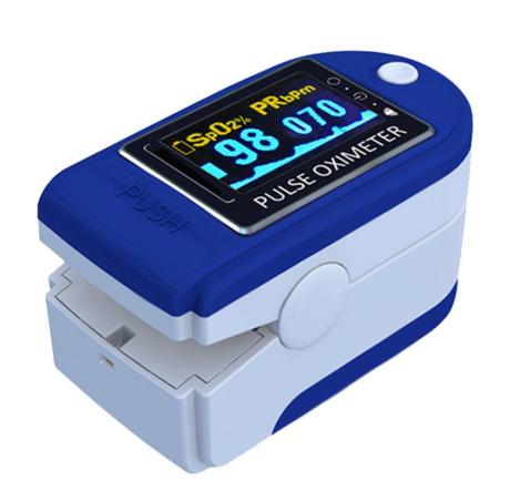現貨 指夾式血氧c儀 血氧監測儀 指甲式血 氧仪 PI血氧 夾式灌注呼吸頻率手指脈 搏飽和度血氧監測仪 檢測儀
