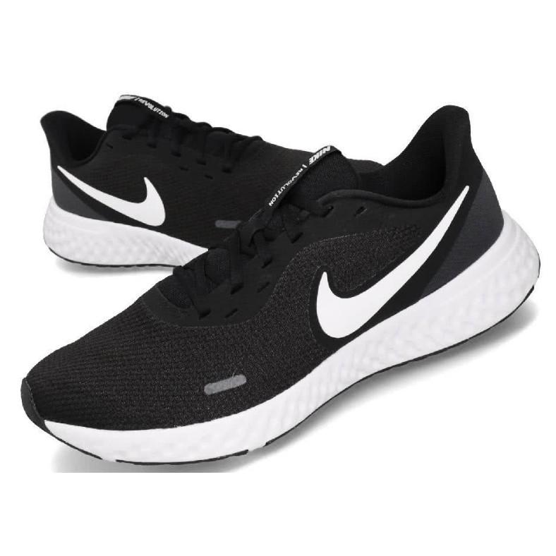 NIKE 慢跑鞋 Revolution 5 男款 / 黑 BQ3204-002 / 運動達人