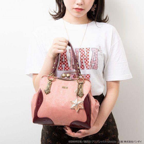 截止💜🌸鬼滅之刃 x ANNA SUI🦋💜合作商品 絕美周邊商品 搶先預購中 口金包設計側背包/手提袋