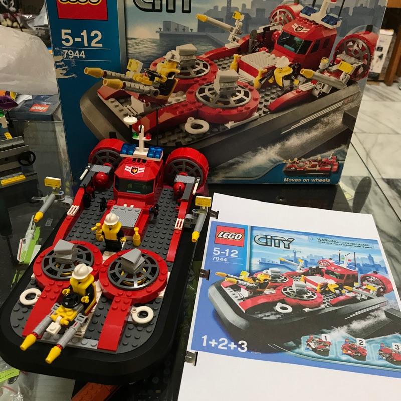 LEGO 7944 城市系列 海上消防船 消防局 警察局 免運