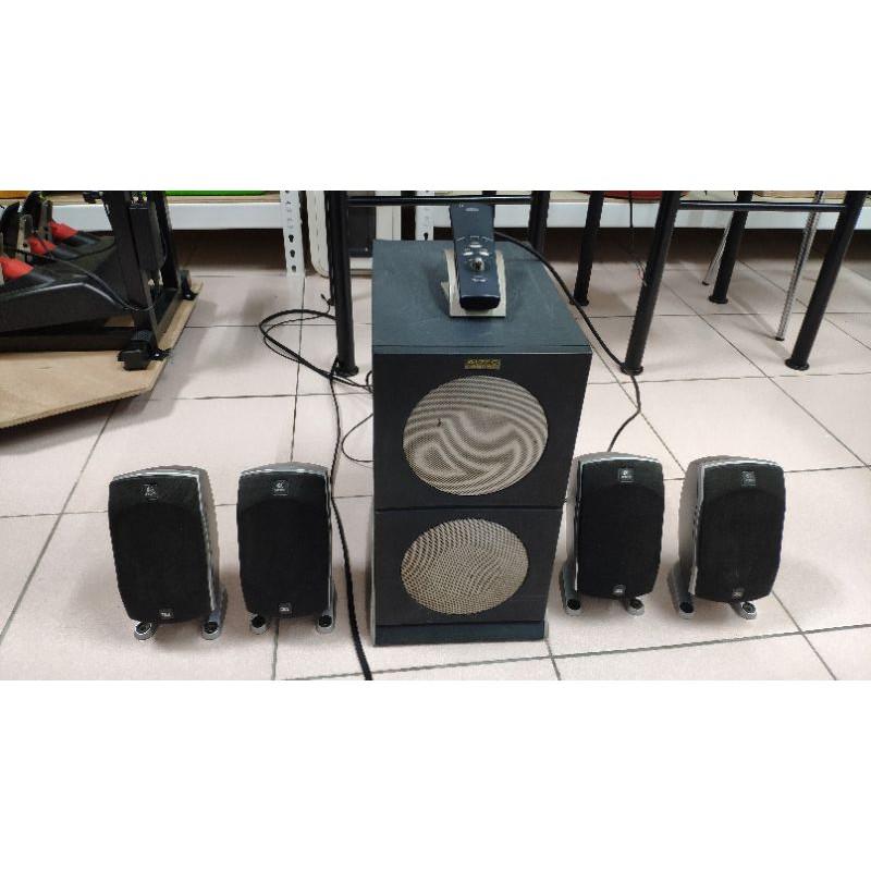 Altec 4100重低音+羅技Z5500衛星喇叭4.1聲道