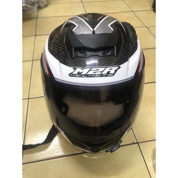 m2r 碳纖維全罩安全帽 XR3