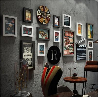 TIM少潮品 復古酒吧牆面裝飾創意工業風理髮店牆壁掛件個性餐廳飯店牆上掛飾