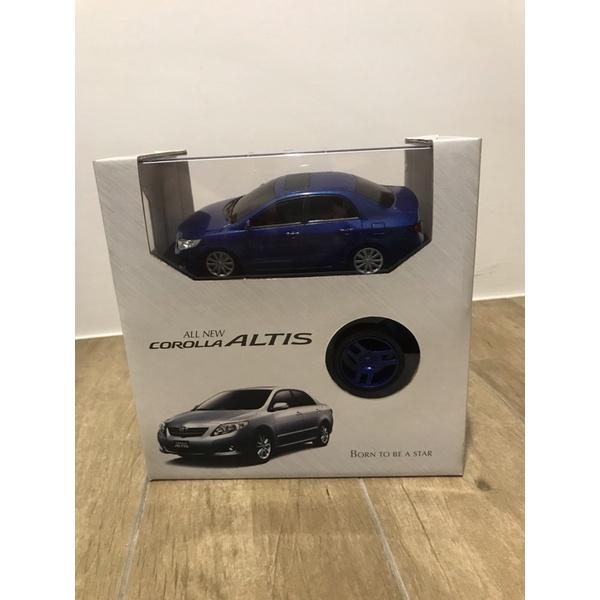 全新盒裝TOYOTA ALTIS 藍色電動遙控展示模型車 遙控車 模型車