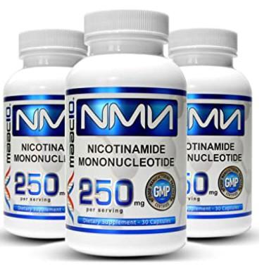 全館最低![美國代購]抗衰老第一品牌MAAC10 NMN 99.9% 最高純度 升級版 250mg*30顆 NAD+