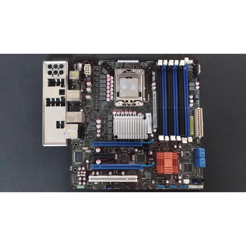 直購1800元 華碩 ASUS Rampage II Gene X58 LGA1366 ROG MATX 主機板