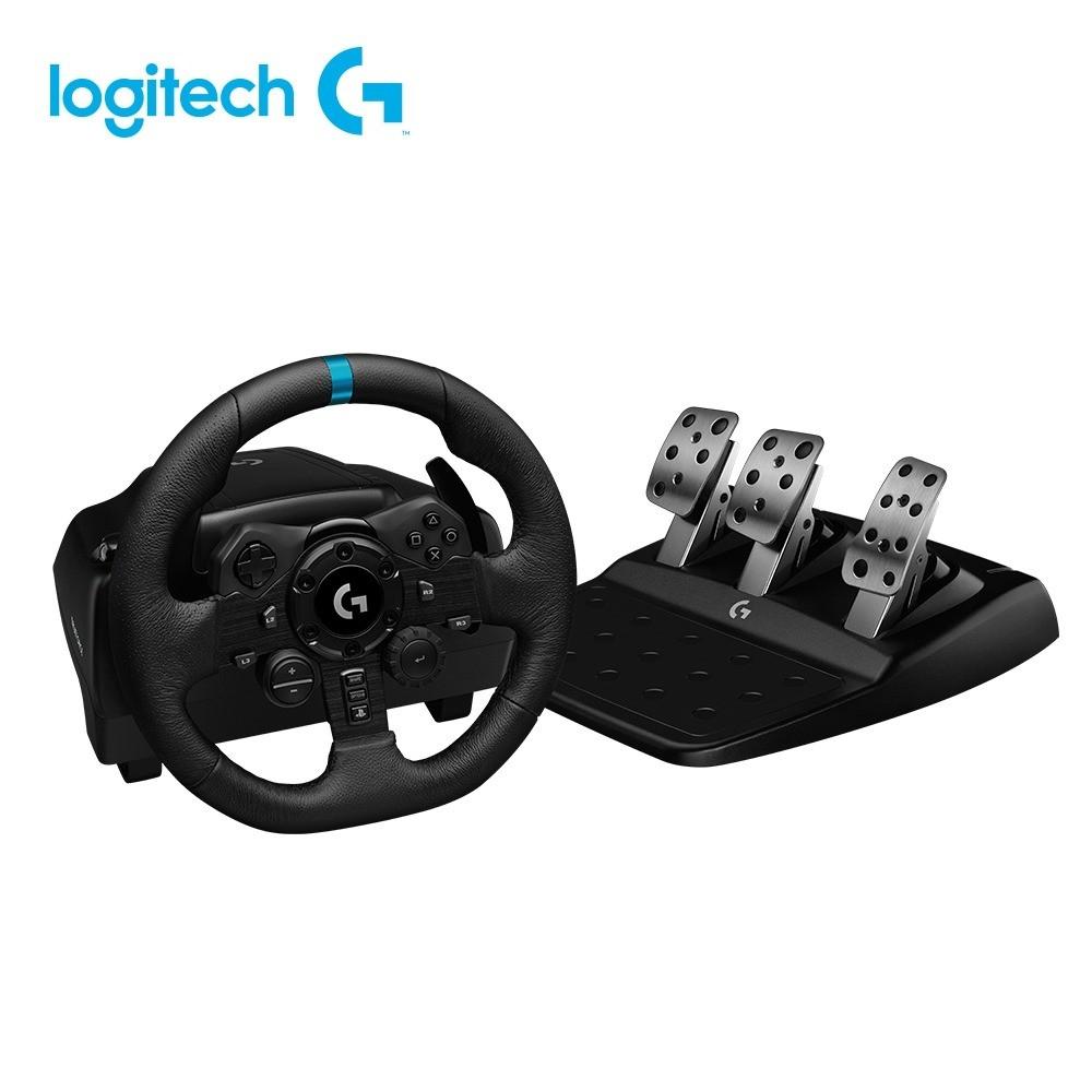 Logitech羅技 G923 支援/PC.PS4/賽車/模擬/方向盤/欣亞數位【贈Logi Shifter變速器】