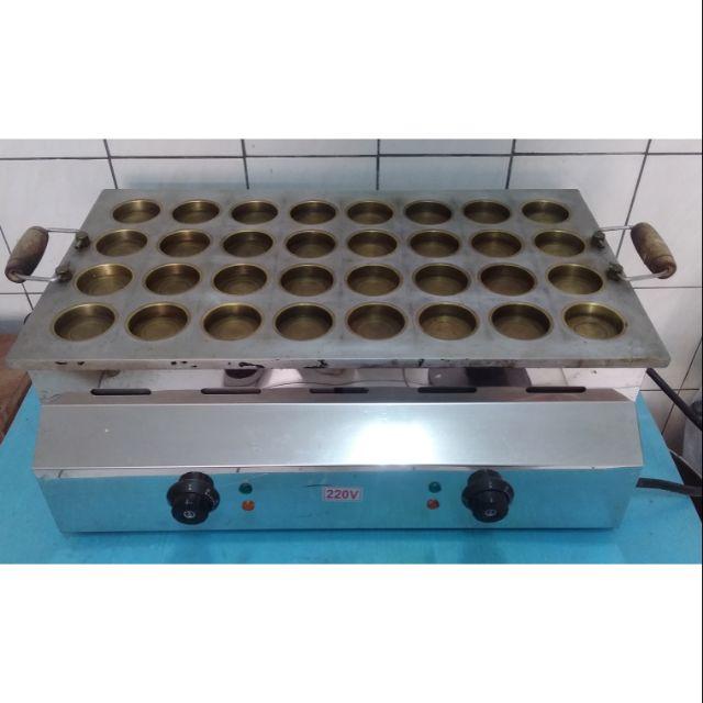 【二手】32孔電力式紅豆餅機