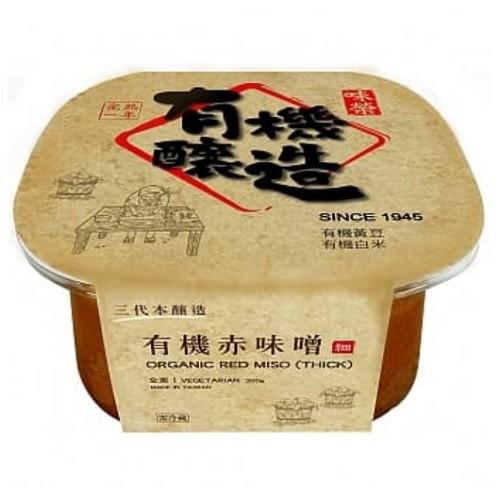 味榮 有機赤味噌300g/盒