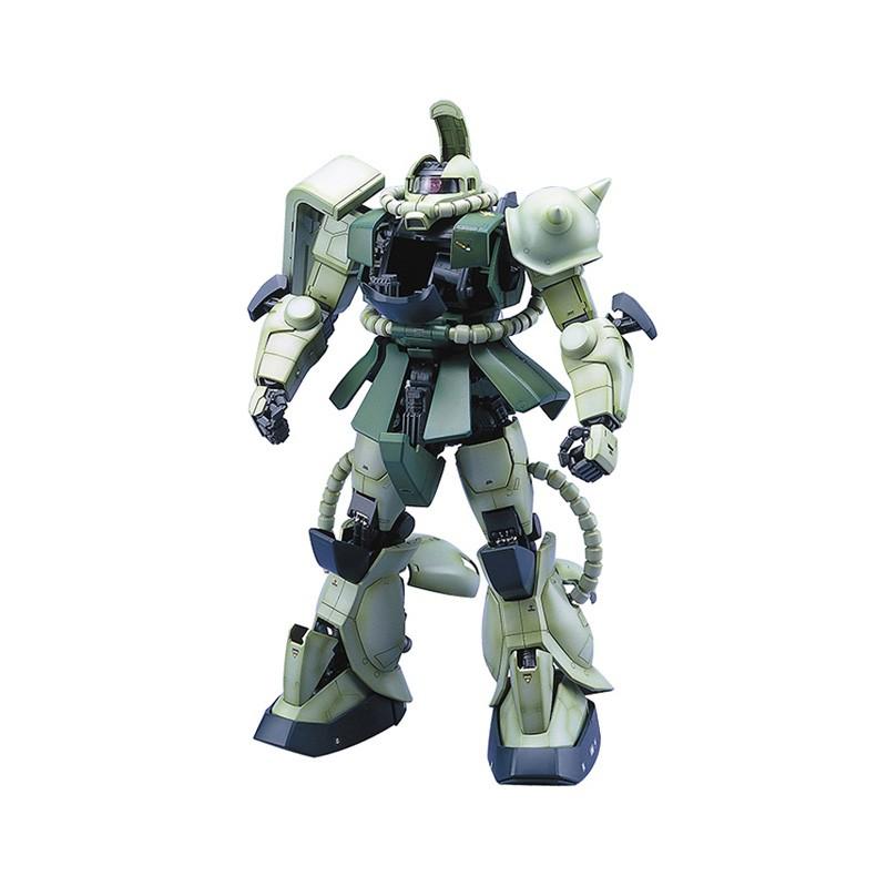 日本Bandai/萬代 PG 1/60 MS-06F ZAKU II 綠扎古 渣古量產型高達