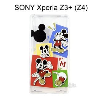 迪士尼透明軟殼 [人物] 米奇 SONY Xperia Z3+ /  Z3 Plus (Z4)【Disney正版授權】 新北市